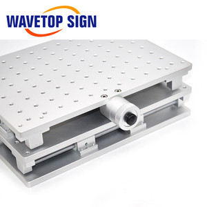 Image 5 - WaveTopSign 2D Worktable Fiber Laser Mark Machine 2 Axis Moving Table 300*220*90mm XY Table