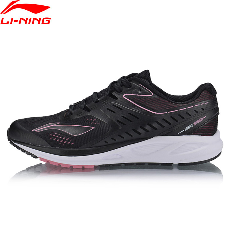 Li Ning Women FLASH Cushion Running Shoes Breathable LiNing Fitness Sport Shoes Wearable Comfort Sneakers ARHN022