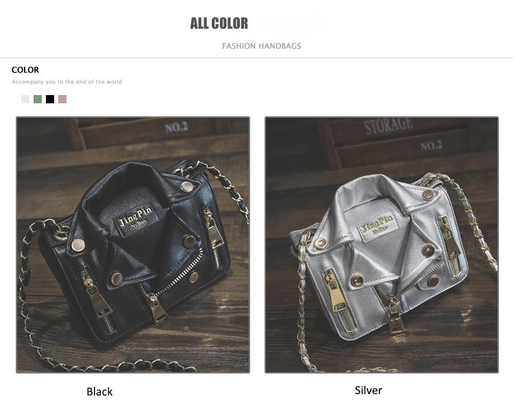 Promotion!Free Ship Hot Brand Designer Motorcycle Bags Women Clothing Shoulder Jacket Bags Messenger Bag Women Leather Handbags (2)