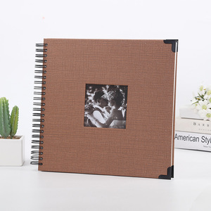 Image 5 - סרט דביק DIY Scrapbook אלבום תמונות חג אהבת מתנות חתונה ספר אורחים קרפט נייר יום נישואים נסיעות זיכרון גלרית