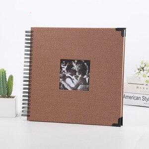 Image 5 - Película autoadhesiva DIY foto de libro de recuerdos álbum regalos del Día de San Valentín invitados de boda artesanía de libros papel aniversario recuerdo de viaje álbum