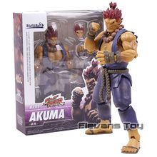 SHF S.H.Figuarts Street Fighter No.05 Akuma Gouki PVC Action Figure Collectible Model Toy