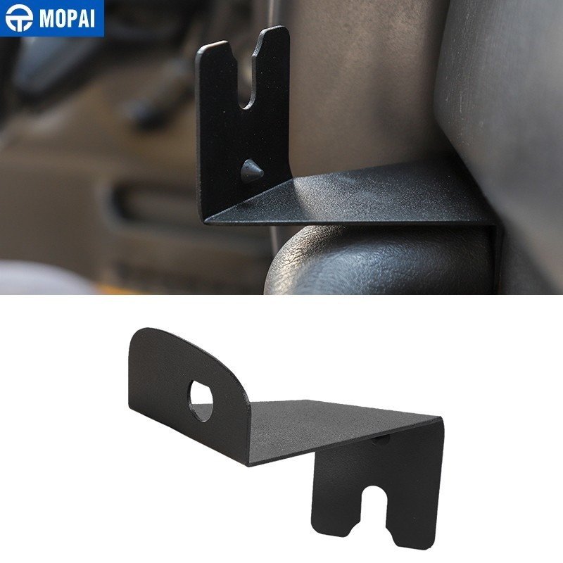 MOPAI Interior Mouldings For Jeep Wrangler TJ Car Walkie Talkie Bracket Interphone Holder Stand For Jeep Wrangler TJ 1997-2006