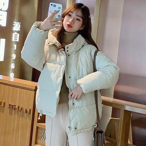 Image 3 - PinkyIsBlack סתיו חורף מעיל נשים מעיל 2019 אופנה נקבה סלעית חורף מעיל נשים קצר מעיילים חם מזדמן מעיל נשי