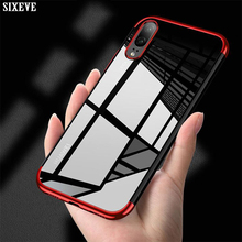 SIXEVE Clear Soft Silicone Case For Huawei P20 P10 Plus P8 P9 Lite Honor 8 9  View 64c23985ce81