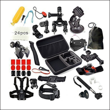 Sport camera accessories Action Camera accessories Chest belt Head belt Selfie stick act
