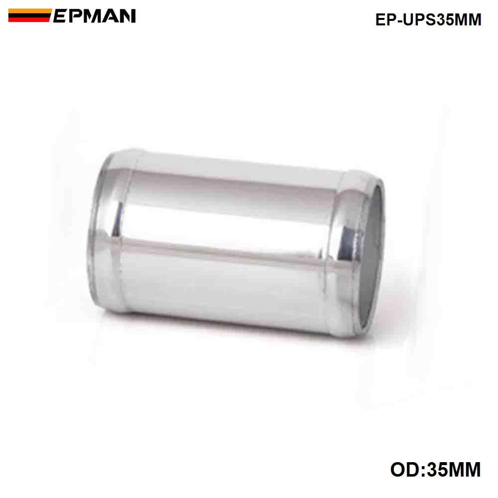 EPMAN прямая алюминиевая интеркулер Впускной турбо трубы OD 22 мм/30 мм/35 мм L = 76 мм - Цвет: OD 35MM
