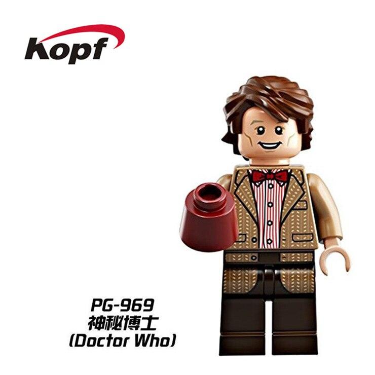 20Pcs Super Heroes Mysterious Doctor Who Weeping Angel Matt Smith Bricks Model Building Blocks Education Toys for children PG969