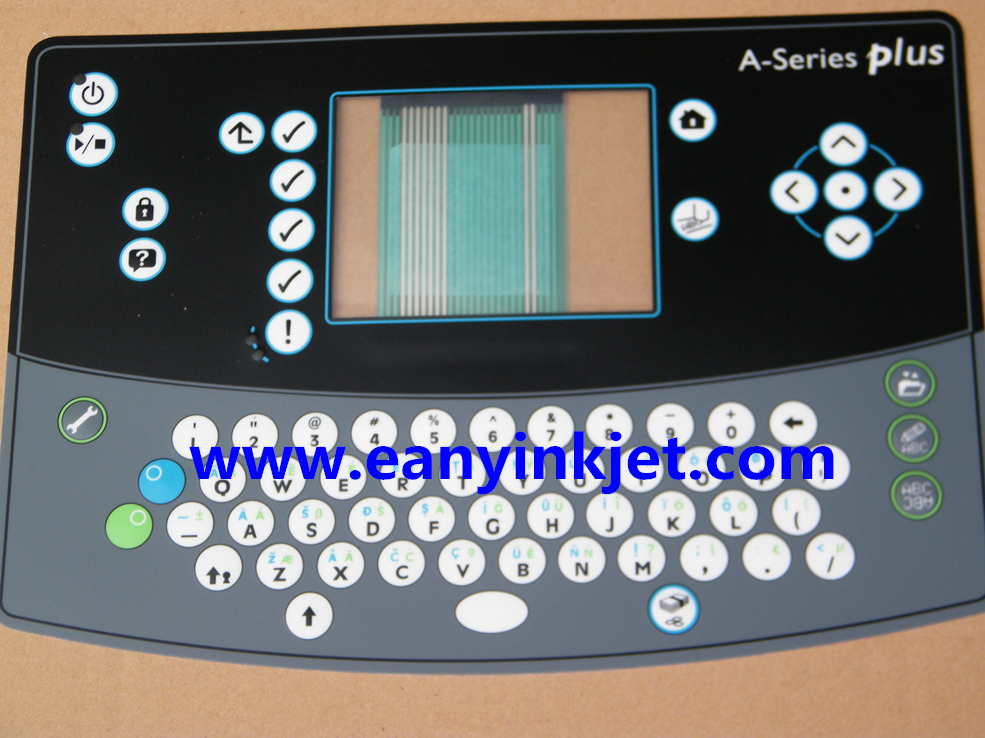 keyboard for Domino A Plus printer