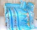 Promotion! 10PCS Baby Bed Set,Both Safety and Healthy Kids Accessory,jogo de cama (bumper+matress+pillow+duvet)