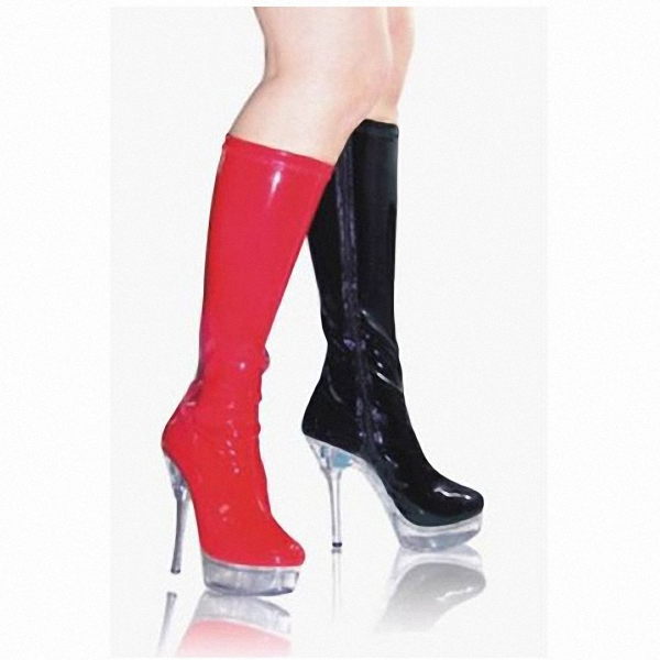 15 cm high heel waterproof high boots in the high-grade diamond Big yards of shoes fashion crystal long boots big yards for women s shoes in the fall and winter of 2016 high thickening bottom anti slip with warm confined new fashion shoes