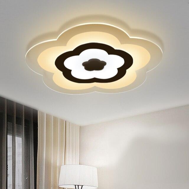 acrylic modern ceiling lights led living room light bedroom lamp design plafonnier lighting fixtures lamparas de
