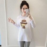 Frauen T-Shirt 2017 Sommer Tops Cute Cat Print T-shirt Camiseta T Weibliche T 2017 Neue Mode Mutterschaft T hemd