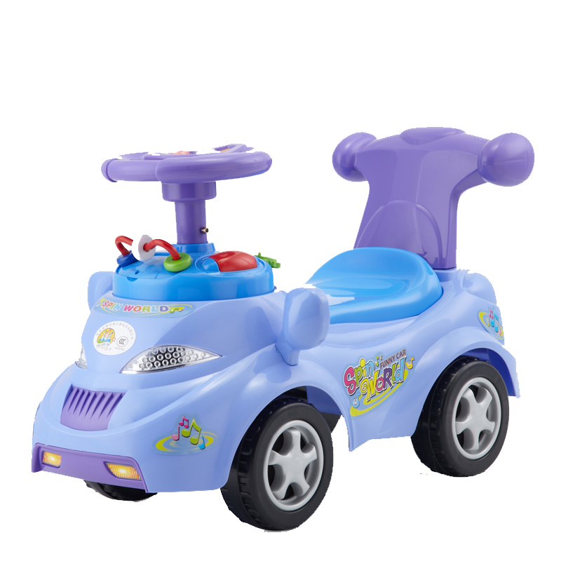 Musical spin world funny ride on car,good present for boys and girls