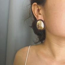 Fashion Earrings Irregular Geometry Bohemian Gifts For Women Jewelry Retro Simple Punk Boho Style Earring
