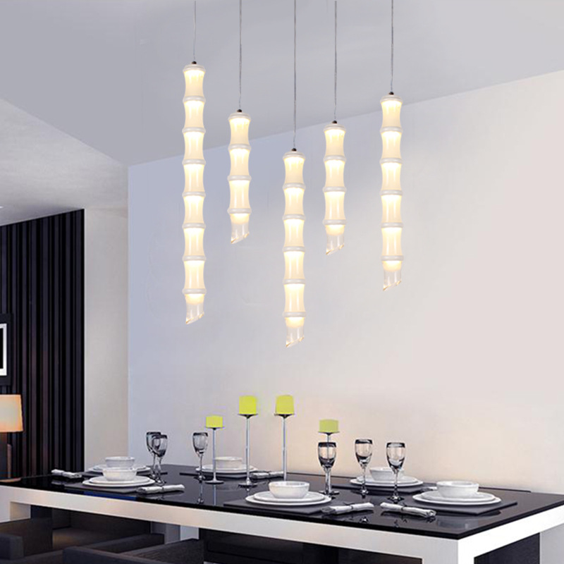 Eusolis Creatieve Bamboe Pendant Light Lamparas Colgantes Hanging Lights Modern Lighting Fixture Decorativas Dining Room LightsEusolis Creatieve Bamboe Pendant Light Lamparas Colgantes Hanging Lights Modern Lighting Fixture Decorativas Dining Room Lights