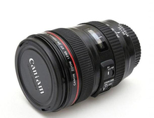 24-105mm 1:1 Camera Lens Insulated Coffee Mug With Lid