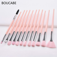 3-12pcs Makeup Brushes Set Professional Make Up Eye Shadow Blending Eyeliner Eyelash Eyebrow Brush For Tool