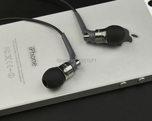 Brand New Top Quality Metal in ear headphones JBM MJ-6600 In-ear Earphone HD HiFi headphone with Retail Box
