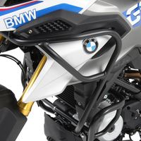 LJBKOALL For BMW G310GS G310 GS 2017 2018 Motorcycle Tank protector Upper & Lower Carsh Bars Guard Engine Bumper Cover Black