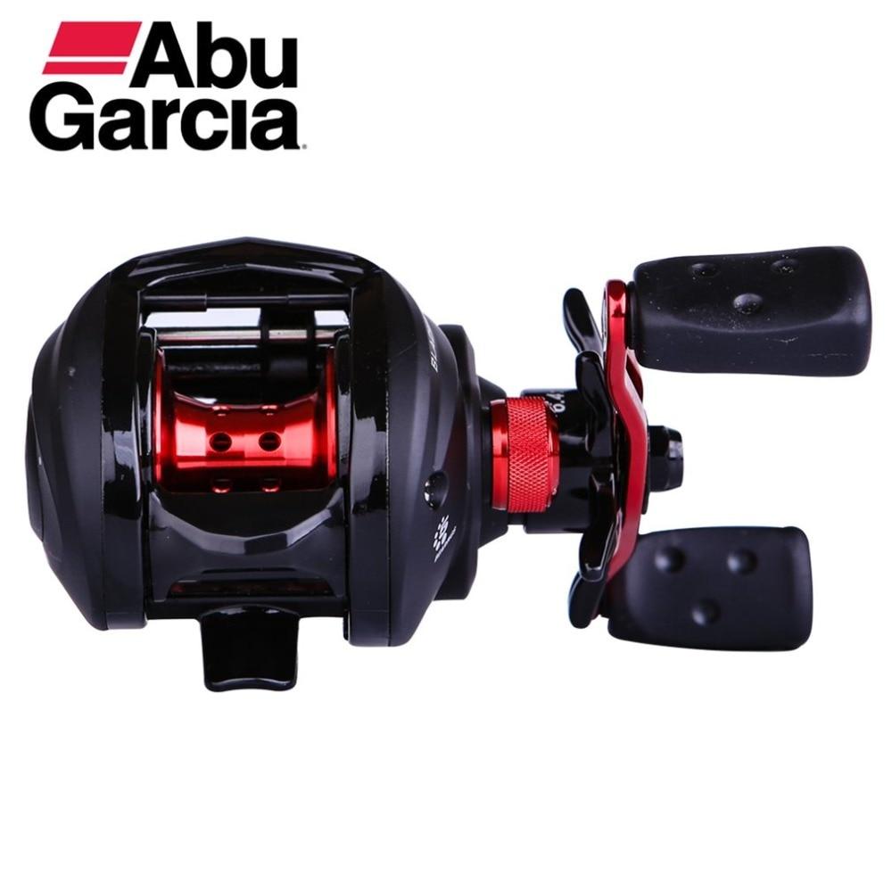 все цены на Abu Garcia Black Max3 BMAX3 Left Right Hand Baitcasting Reel 4BB 6.4:1 Bait Casting Fishing Reel Max 5Kg Carretilha Pesca Top br онлайн