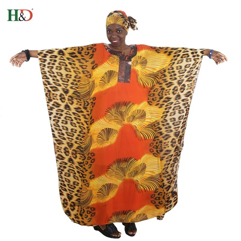 afrikanska kvinnor lång mantel leopard tryckt lös maxi klänningar - Nationella kläder - Foto 3
