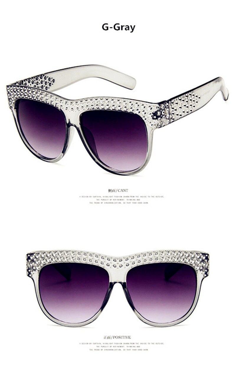 2019 New Shining Diamond Sunglasses Women Brand Design Flash Square Shades Female Mirror Sun Glasses Oculos Lunette UV400 in Women 39 s Sunglasses from Apparel Accessories