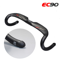 2017 EC90 Genuine Original Newest Full Carbon Fiber Road Bike Handlebar Car Handle Racing Bend The