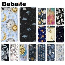Babaite Sun Moon Stars Colorful Cute Phone Accessories Case