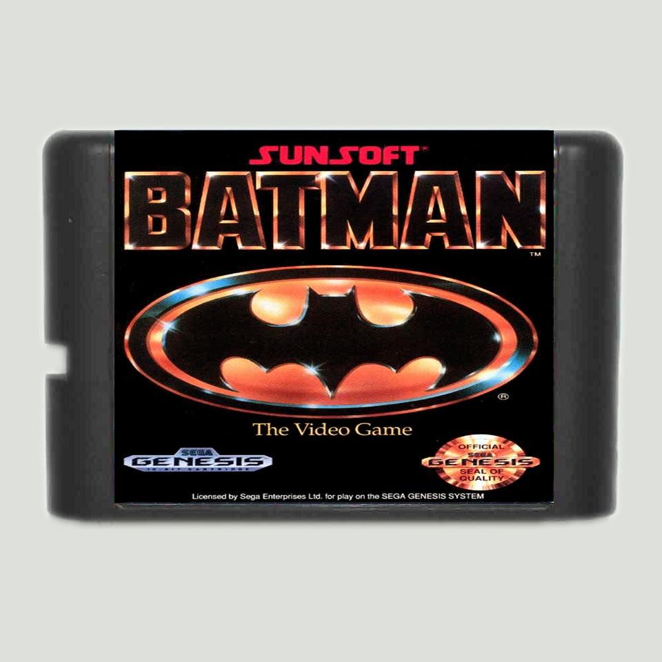 Batman 16 bit SEGA MD Game Card For Sega Mega Drive For Genesis