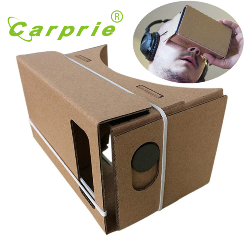 6 inch DIY Google Cardboard 3D VR Virtual Reality Glasses Hardboard_KXL0620