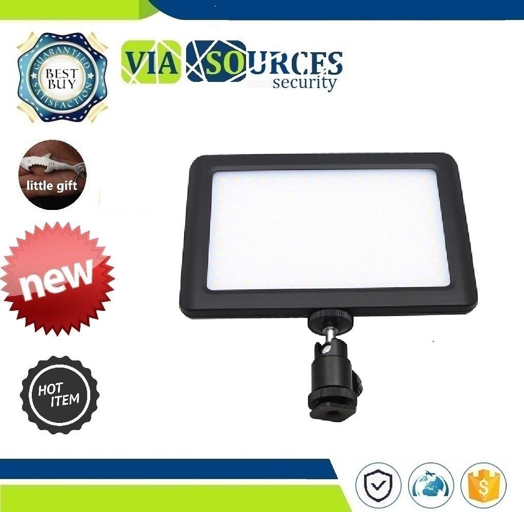 Camera DV Camcorder Black 12W 192 LED Studio Video Continuous Light Lamp