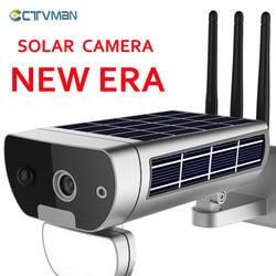 CTVMAN 1080 P Wi-Fi камера на солнечной энергии Внешняя беспроводная Солнечная камера s IP 2MP CCTV Домашняя безопасность P2P двухстороннее аудио