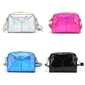 Crossbody-Bag Evening-Handbags Hologram Messenger Women Laser Reflection Hobo