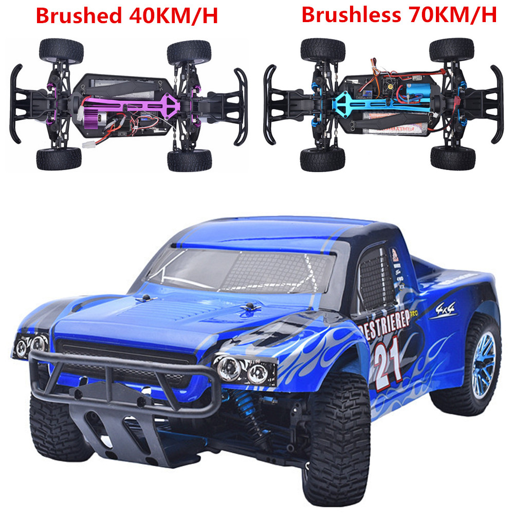 HSP Rc Car 1/10 4wd Off Road Rally Truck 2.4Ghz Remote Control Car 94170PRO Electric Power Brushless Car Remote Control Toys 02023 clutch bell double gears 19t 24t for rc hsp 1 10th 4wd on road off road car truck silver