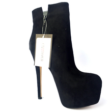 Women Shoes 2018 Extrme High Heels Round Toe Platform Shoes Ankle Boots for Women Plus Size 35-46 Winter Shoes