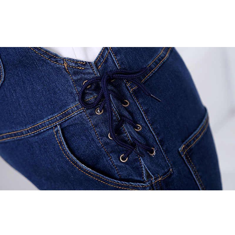 c65b1ee030c2 ... Adjustable Maternity Overalls Denim Pants For Pregnant Women Braced  Jeans Jumpsuits Pregnancy Rompers Suspenders Maternity Jeans ...