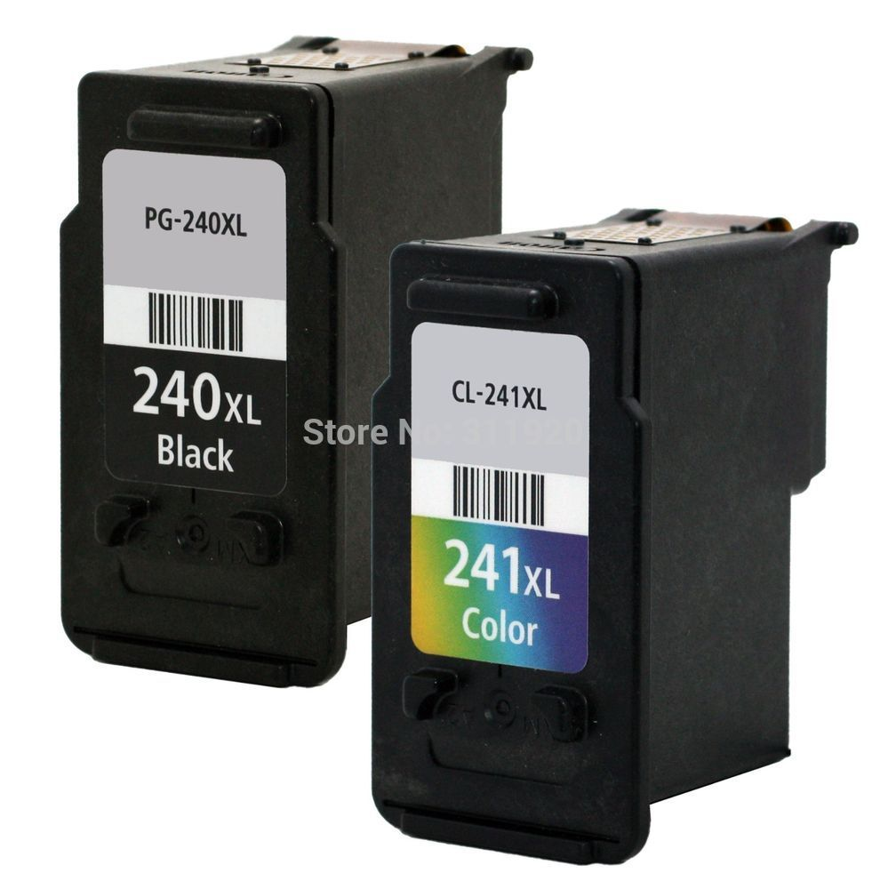 Pg 240 Cl 241 Ink Cartridge For Canon Pg240 Cl241 Pixma Catridge Buat Test 811 Mg2120 Mg2220 Mg3120 Mg3220 Mx434 Mx514 Mg4120 Mg4220 In Cartridges From Computer