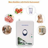 LUCOG-générateur d'ozone de haute qualité, ozonateur, purificateur d'air, minuterie à molette, stérilisateur à ioniseur d'air pour légumes et fruits, 220V ou 110V