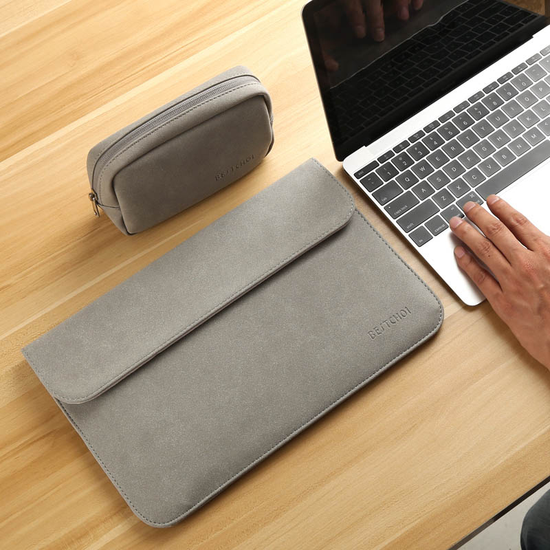 Image 4 - Laptop Bag Case 11 12 13 14 15 15.6 inch for Macbook air Xiaomi pro 13.3 Asus Dell Notebook Sleeve 14.1 Waterproof Matte Cover-in Laptop Bags & Cases from Computer & Office
