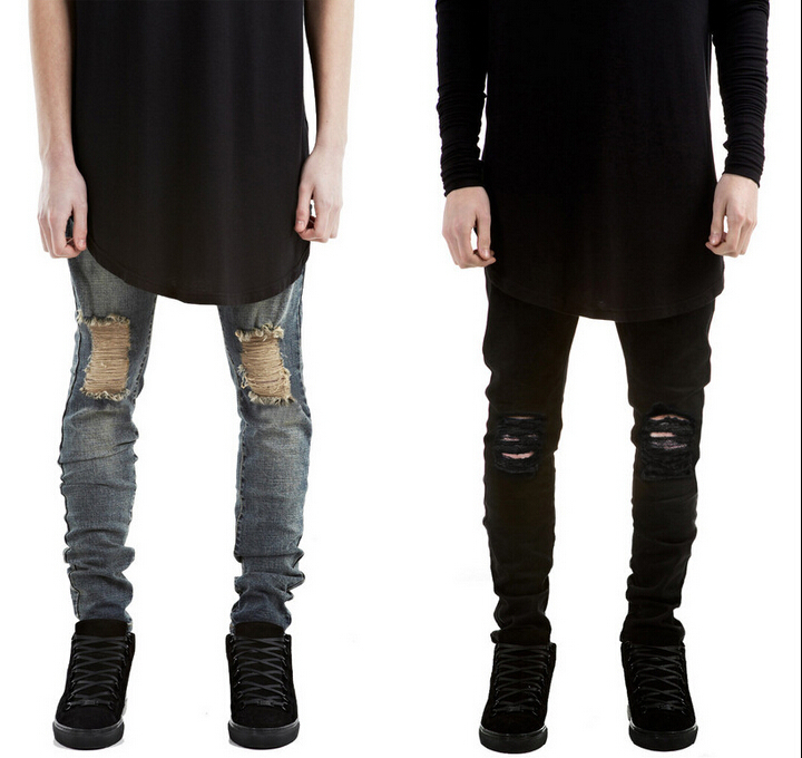 Aliexpress.com : Buy cool ripped jeans for men skinny Distressed ...