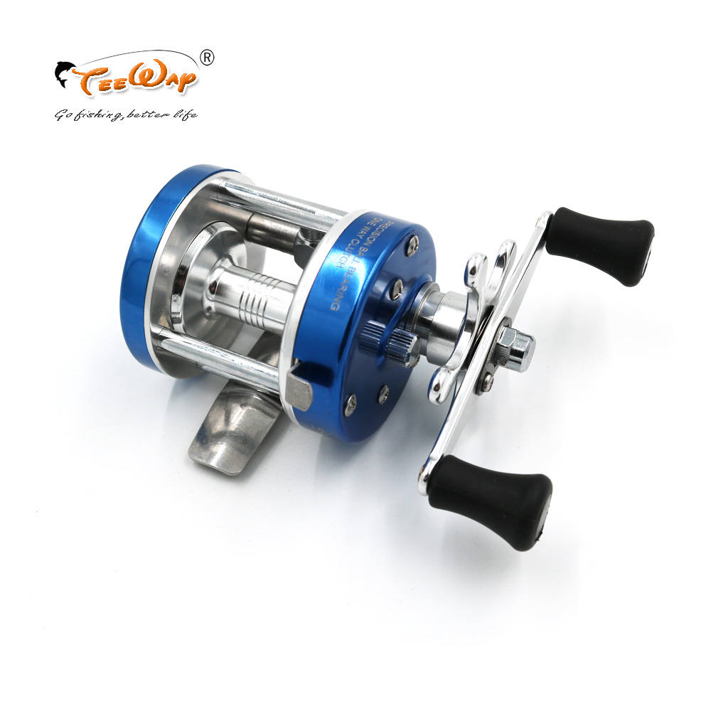Drum Wheel Drum Type Wheel Boat Fishing Reel Wheel Drop Round Fishing Vessel For CL25  Fishing Reels Drum For Fishing Tackle
