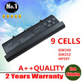 WHOLESALE New laptop battery For Dell Inspiron 1525 1526  1545  D608H GP952 GW240  9cells free shipping