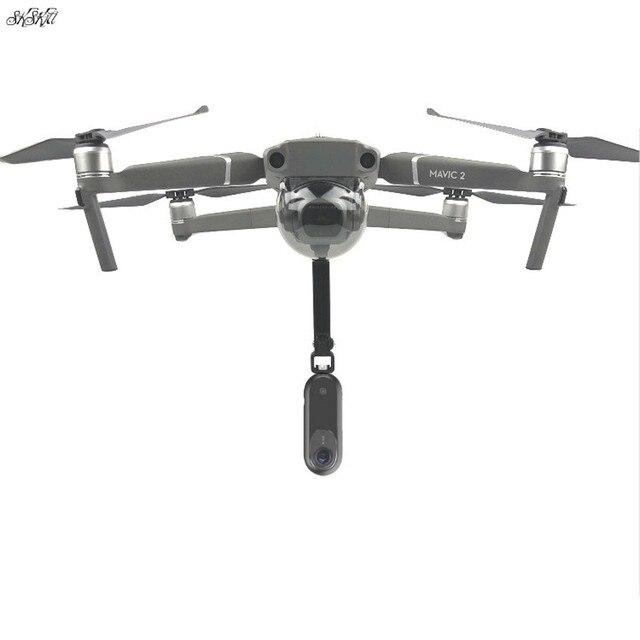 עבור gopro & אוסמו פעולה & פנורמי מצלמה מחזיק mounts בסיס עם הלם בולם gimbal לdji mavic 2 פרו & זום drone
