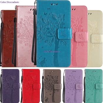 Etui na telefon do Huawei GR3 GR 3 TAG L01 L03 L13 L21 L22 L23 TAG-L01 TAG-L03 TAG-L13 TAG-L21 TAG-L22 skórzane etui z klapką pokrywy skrzynka Coque tanie i dobre opinie Color Descendants Wallet Case Podpórka Z Kieszeni Karty Anti-knock Odporna na brud For Huawei Enjoy 5S For Huawei GR3 GR 3