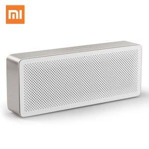 Оригинальная Bluetooth Колонка Xiaomi Mi, квадратная коробка, 2 стерео беспроводные мини портативные колонки, музыкальный MP3-плеер Bluetooth 4,2