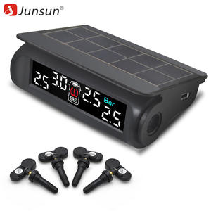 Junsun Car TPMS Tire Pressure Monitoring System Wireless With Sensor