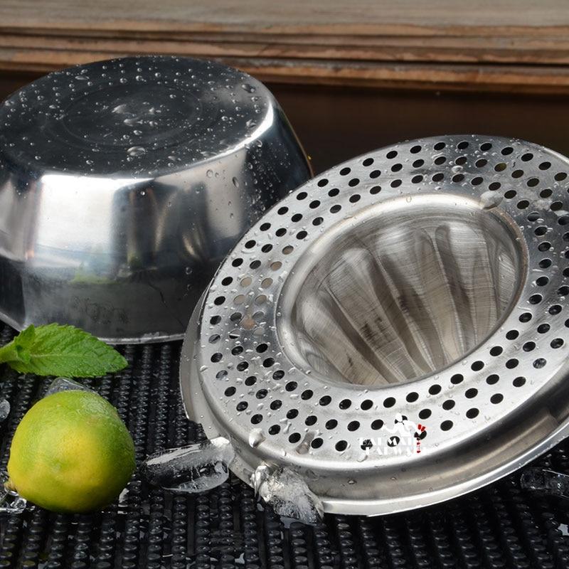 Stainless Steel Hand Squeezer Juice Squeezer Orange Lemon Stainless Steel Presser in Other Bar Tools from Home Garden