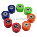 8mm Drive Chain Pulley Roller Slider Tensioner Wheel Guide For Pit Dirt Street Bike Motorcycle Atv CRF RTF-M234568 free shipping
