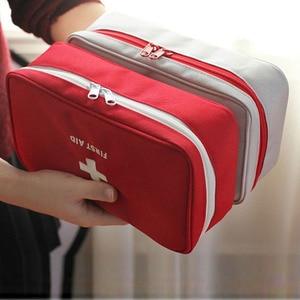 Image 4 - Portable Camping First Aid Kit Emergency Medical Bag Waterproof Car kits bag Outdoor Travel Survival kit Empty bag Househld